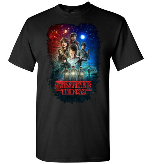 Stranger Things , Tv Show/Sci Fi/ Netflix Series shirt ,v7, Youth - Kids Size,Gildan Short-Sleeve T-Shirt