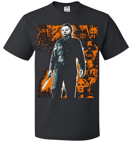 HALLOWEEN MICHAEL MYERS John Carpenter Classic Horror Movie v1, FOL Classic Unisex T-Shirt