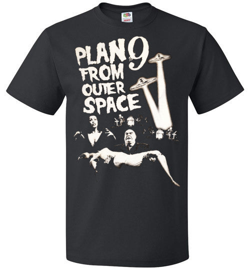 Plan 9 from Outer Space Horror Movie Ed Wood ,Vampira ,Tor Johson ,  FOL Classic Unisex T-Shirt