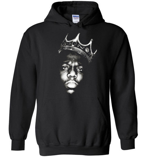 Notorious BIG Biggie Smalls Big Poppa Frank White Christopher Wallace,Bad Boy Records, Hip Hop Brooklyn,v1,Youth,Kids,Gildan Heavy Blend Hoodie