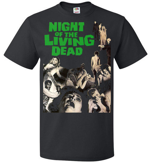 Night Of The Living Dead Horror Zombie Splatter George Romero , FOL Classic Unisex T-Shirt