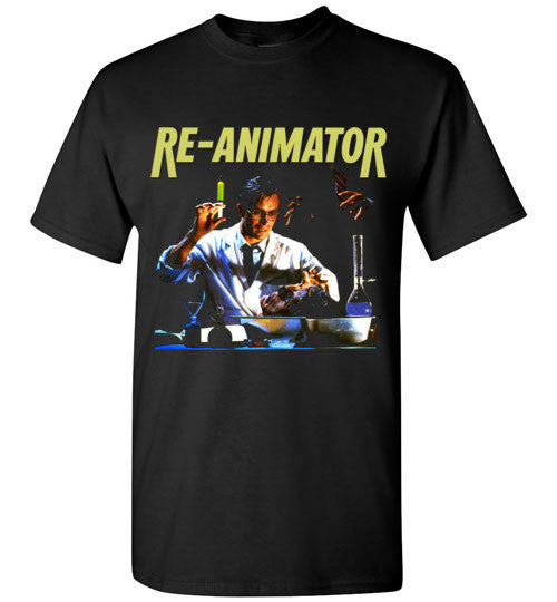 Re-animator H. P. Lovecraft 1985 Horror Movie Classic  v2, Gildan Short-Sleeve T-Shirt