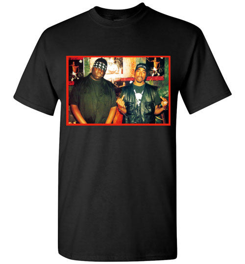Tupac 2pac Shakur Makaveli Biggie Death Row hiphop v6, Gildan Short-Sleeve T-Shirt