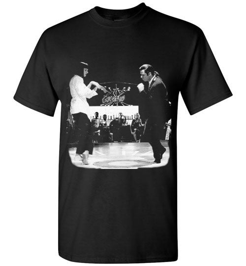 Pulp Fiction Dance, Quentin Tarantino,  John Travolta, Vincent & Mia , Gildan Short-Sleeve T-Shirt