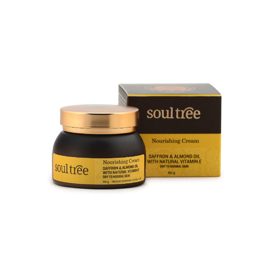 SoulTree Nourishing Cream with Saffron and Almond Oil