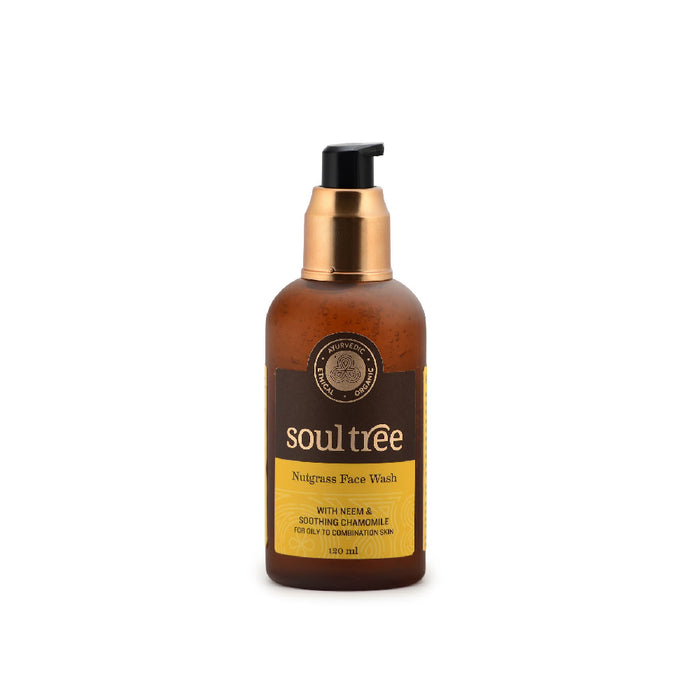 SoulTree Nutgrass Neem Face Wash