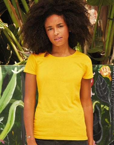 Camiseta Fruit of the Loom Original Lady Fit