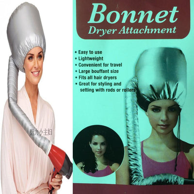 Portable Soft Hair Dryer Hair Bonnet Cap Attachment - Snazzycollection.com