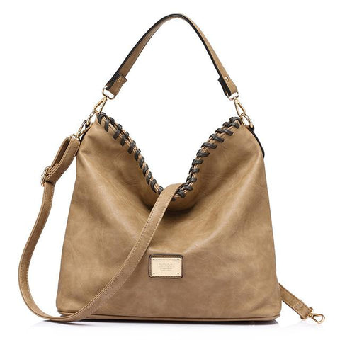 Beautiful Large Capacity Messenger Shoulder Handbag - Snazzycollection.com