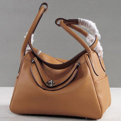 Genuine Leather Hobo Shoulder Bag