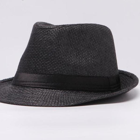 Unisex Gangster Panama Straw Hat - Snazzycollection.com