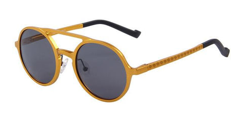 Unisex Retro Round Polarized Sunglasses - Snazzycollection.com
