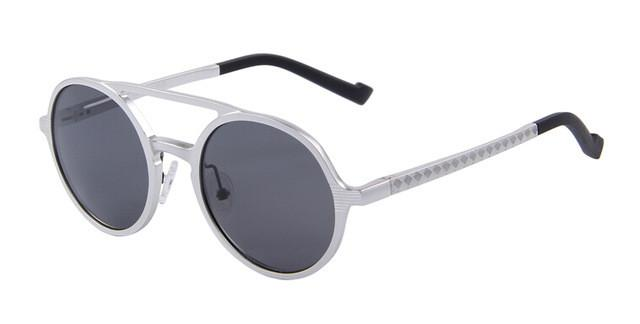 dceb8a07be Unisex Retro Round Polarized Sunglasses - Snazzycollection.com