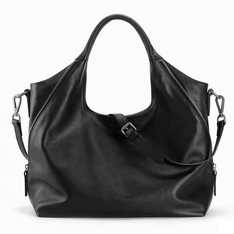 Genuine leather Hobo Designer Handbag