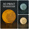 Exquisite Changing Colors 3D Moon Lamp - Snazzycollection.com