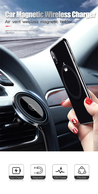 Hands Free - Wireless Charging Mount (Free Shipping!!)
