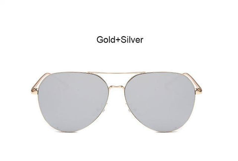 Stylish Unisex Mirror Aviation Sunglasses - Snazzycollection.com