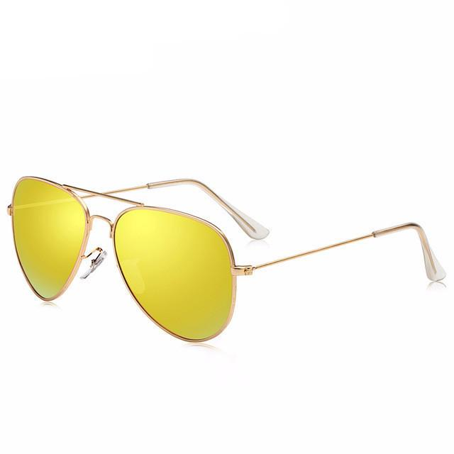 051b61c5a6a Polarized Various Color Mirrored Aviator Sunglasses - Snazzycollection.com
