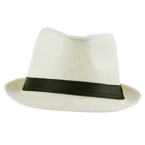 Unisex Casual Straw Panama Hat - Snazzycollection.com