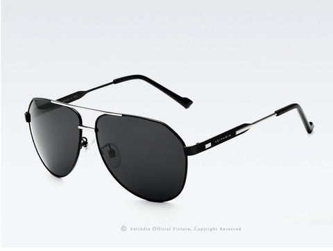 Stylish Oversized Polarized Mirror Sunglasses Unisex - Snazzycollection.com