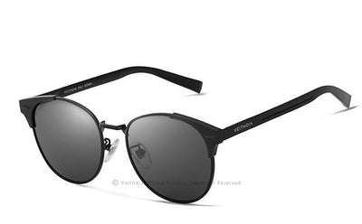 Unisex Vintage Aluminum Polarized Sunglasses - Snazzycollection.com