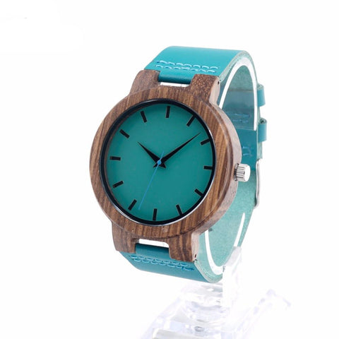 Unique Bamboo Wooden Quartz Watch - Snazzycollection.com
