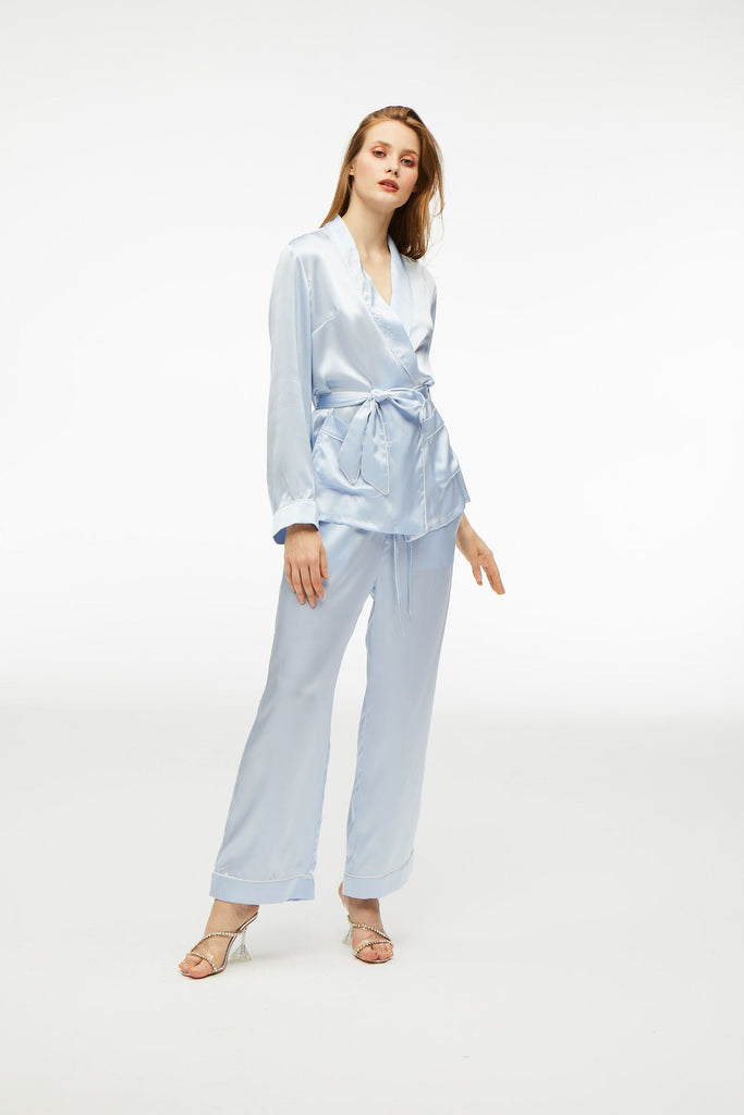 Tiffany Blue Crystal Pajamas - Nana Jacqueline