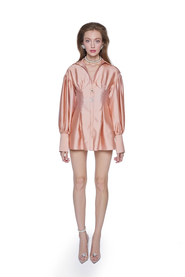 Pink Palace Shirt Dress - Nana Jacqueline