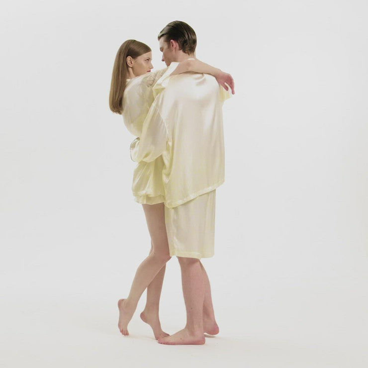 Slip into Love Silk Robe