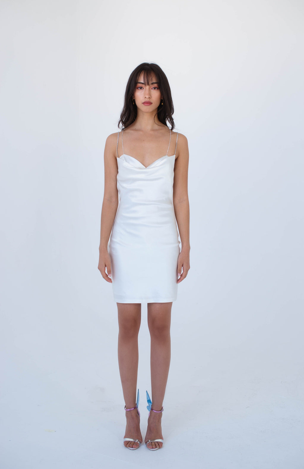White Blossom Dress - Nana Jacqueline