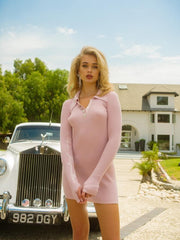 Pink Quinn Polo Dress - Nana Jacqueline