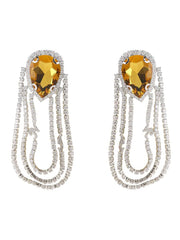 Crystal Teardrop Earrings - Nana Jacqueline
