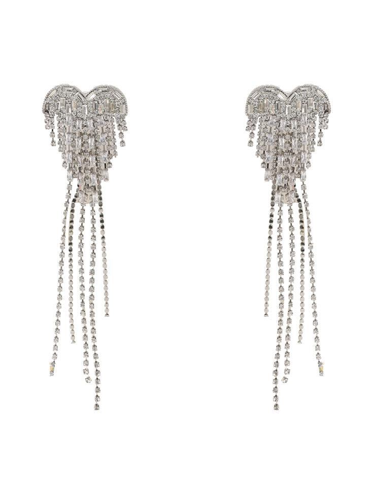Crystal Tassel Earrings - Nana Jacqueline