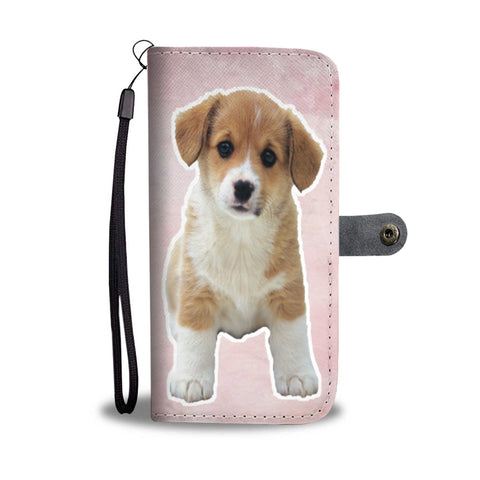 I Love My Dog Wallet Phone Case