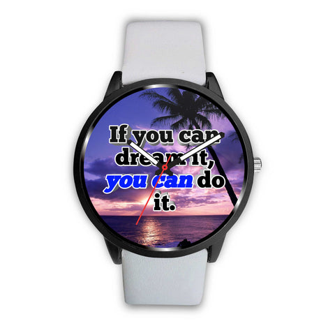 Inspirational Quote Customizable Watch