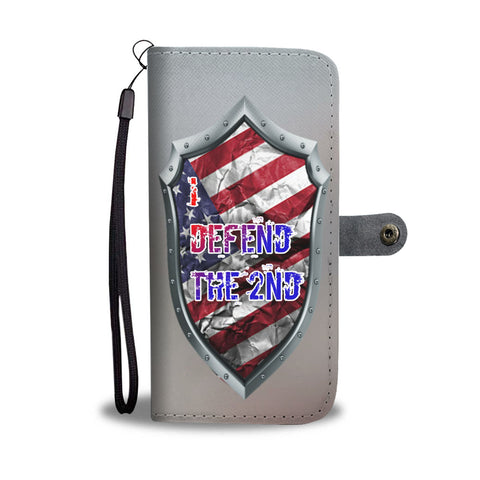I Defend The 2nd Wallet/Phone Case