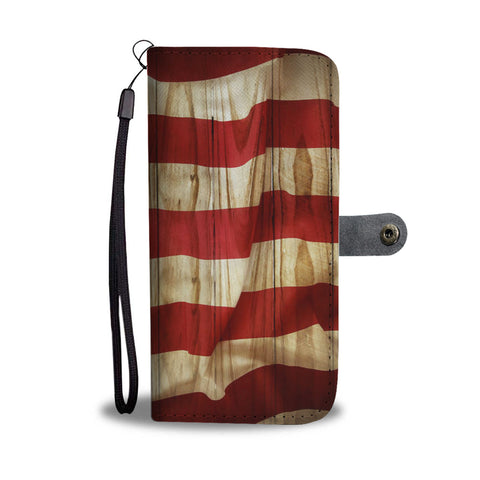 American Flag Custom Wallet/Phone Case