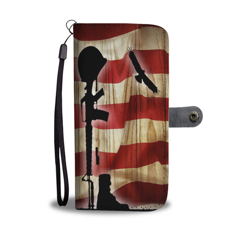 American Flag Remembrance Wallet/Phone Case
