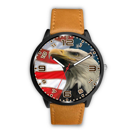 American Eagle With numbered face Designed Watch