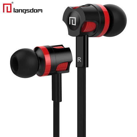 Stereo Earphone Super Bass Headphones with microphone