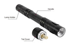 Reliable Portable Mini LED Flashlight Torch, Hunting Camping Flashlight