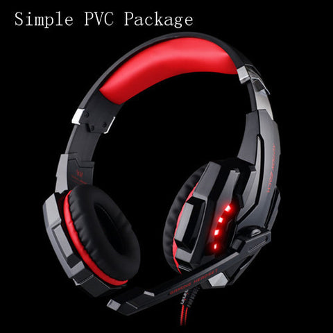 G9000 Gaming Headphone Headset With Mic LED Light