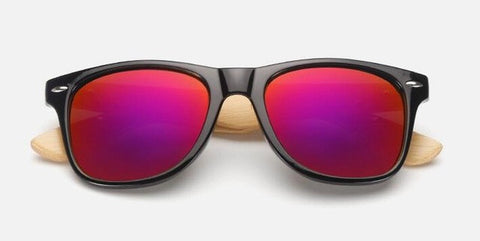 Retro Wood Mens Sunglasses
