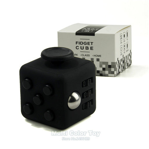 11 Color Fidget Cube Toy Fun Stress Reliever