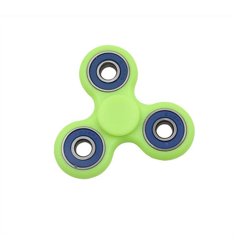 New Glow in Dark Fidget Spinner Toy