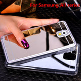 Beautiful Mirror Back Case Cover For A Variety Of Samsung Phones