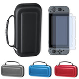 Case for Nintend Switch + HD Tempered Glass Screen Protector