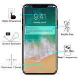 Strong 9H Tempered Glass Screen Protector For iPhone X 10 8 7 6 6S Plus 5 5S 4S 5C SE