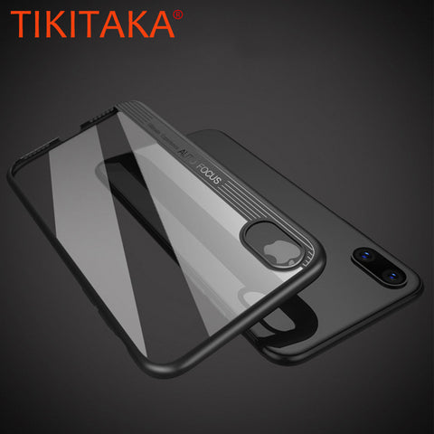 Luxury Case For iPhone X Fitted Cases Ultra Thin Silicone Cover
