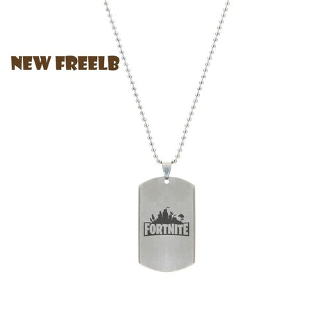 Fortnite Necklace Stainless Steel Pendant